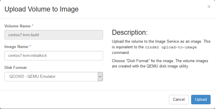 24  Create KVM CentOS 7 Image — openstack-xenserver latest documentation